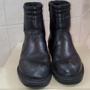 Worn once! Mens Leather Winter boots